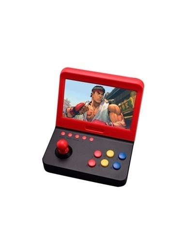 Mini Retro Mini Arcade 3000 Oyunlu 7 İnç Ekranlı İ 2 Adet Kol Ve Tv Bağlantı Kablosu Atari Oyun Makines Renkli